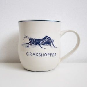 Molly Hatch Grasshopper Mug